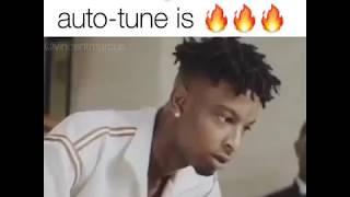 21 Savage with no auto tune 🇬🇧 (British Accent) 😂