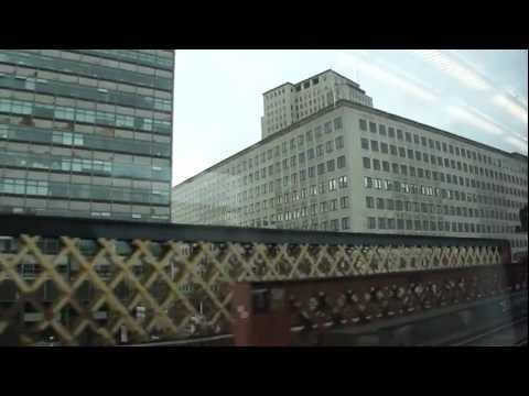 Train ride from Charing Cross station to Sidcup station, (London U.K.) - 10th Sept 2011