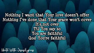 Download Love Won't Give Up-Elevation Worship-(Lyrics) Mp3 and Videos
