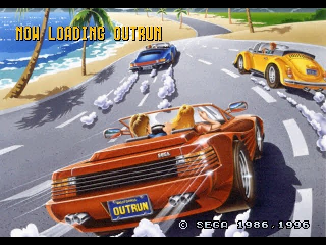 Saturn Longplay [072] Sega Ages: Outrun