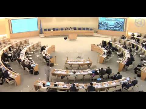 37th Session Human Rights Council - Item 8 GD - Mr. Kostantinos Kakavoulis