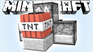 МИНИ ПУШКА [MINECRAFT TNT WARS]