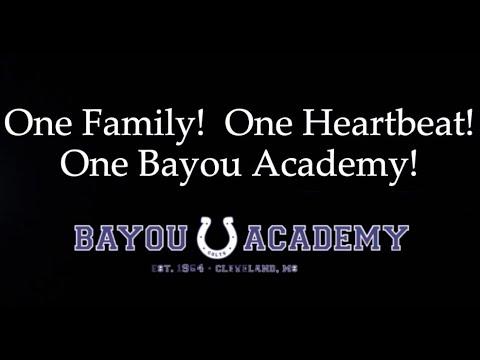 Bayou Academy 2020 Senior Awards