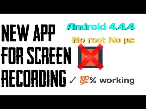How To Record Screen On Android Version 4.4.2 And 4.4.4 No Root No Pc //  // Technical Nikhil Hindi