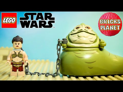 75020 Jabba's Sail Barge LEGO Star Wars - Stop Motion Review