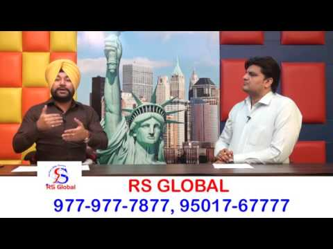 CANADA STUDY VISA @ 5.5 BANDS Discussion with Mr. Sukhchain Singh Rahi- RS Global