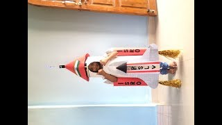 Indian rocket fancy dress speech / independence day costume for kids