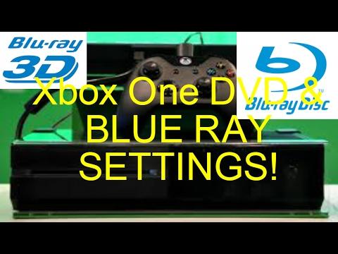 Xbox One DVD And Blu Ray Settings!
