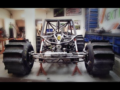 "The making of ""2 INSANE"" Formula Offroad buggy - Raw footage behind the scenes"
