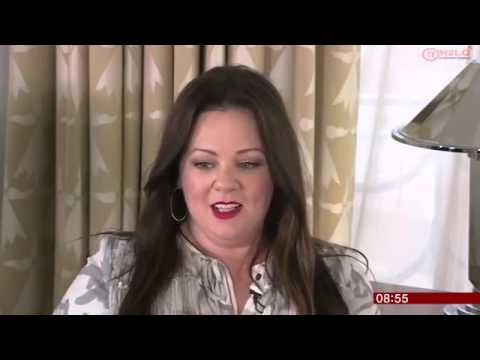 Melissa McCarthy & Miranda Hart    Spy   Breakfast 2015