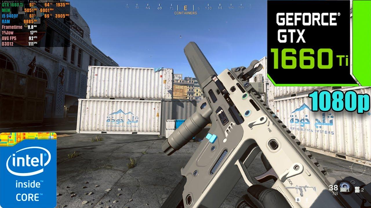 Call of Duty : Modern Warfare Season 5 | GTX 1660 Ti ( Ultra Graphics )