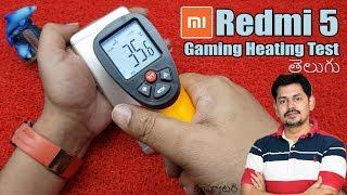 Xiaomi Redmi 5 Gaming and Heating Test | in Telugu | Tech-Logic