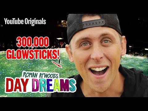 300,000 GLOWSTICK Surprise!! - Roman Atwood's Day Dreams (Ep 2)