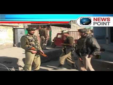 Two terrorists holed up in house near Srinagar, heavy firing on