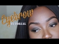 EYEBROW TUTORIAL | NATURAL & THICK | DRUGSTORE