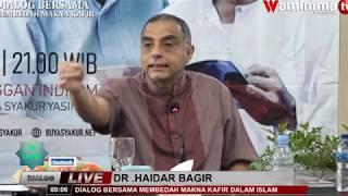 Gambar cover Dr. Haidar Bagir Angkat Bicara masalah Disertasi Abdul Aziz