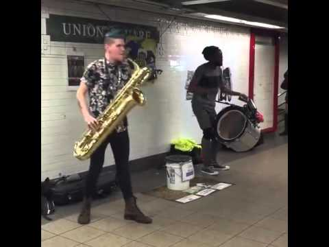 the coolest  saxophone player ever