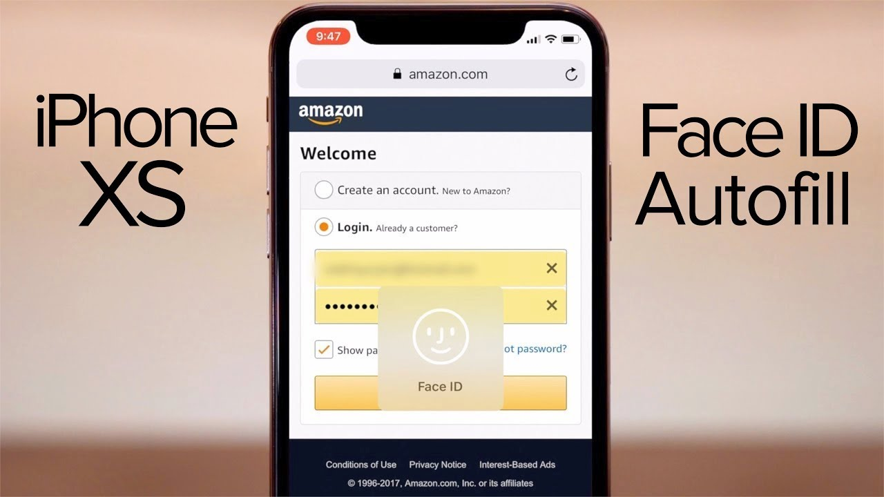 Tip: Autofill passwords and credit card entry in Safari with Face ID