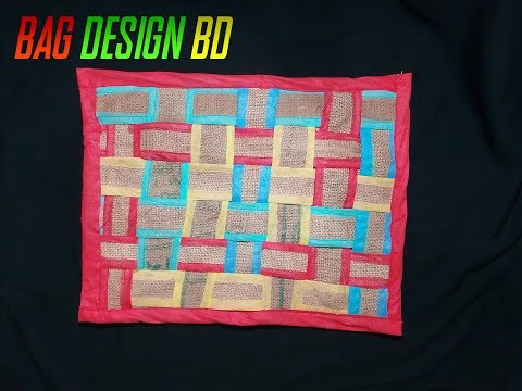 DIY- ART-AND-CARFT Ideas! With Shopping Bags! | Bag Design BD |