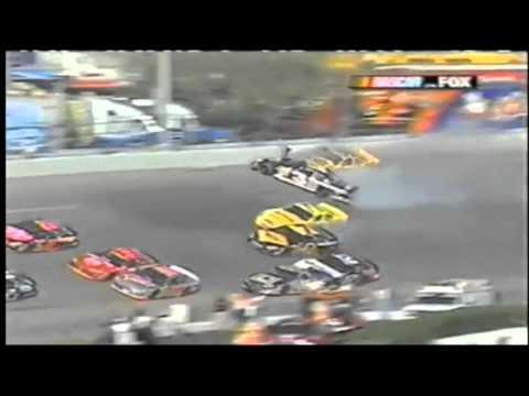 Dale Earnhardt Fatal Crash - Call by MRN