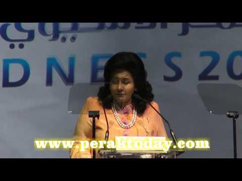 Ucaptama DS Rosmah Di Persidangan '12th Asia Pacific Giftenedness Children'