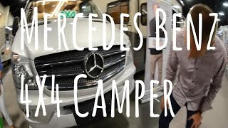 Mercedes Benz | Sprinter 4x4 Camper |(This is an amazing setup for people who like to get off road, or just want the comfort of knowing you can get where you need to be no matter what the conditions ..., 2016-09-19T17:21:20.000Z)