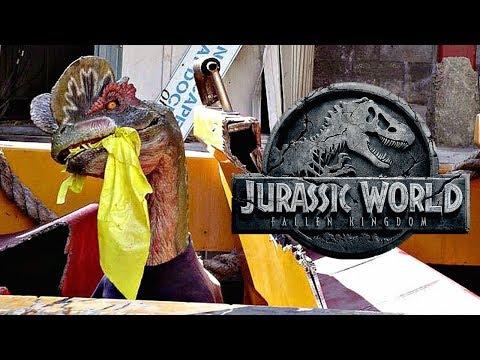 Why The Dilophosaurus Scene Was Cut From Jurassic World: Fallen Kingdom
