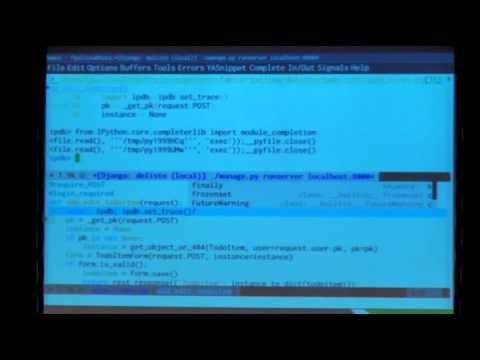 Image from Workflow de trabajo con Emacs y Django