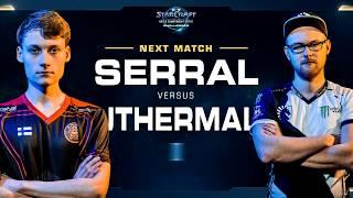 Serral vs uThermal ZvT - WCS Challenger 2018 Season 1 – Europe