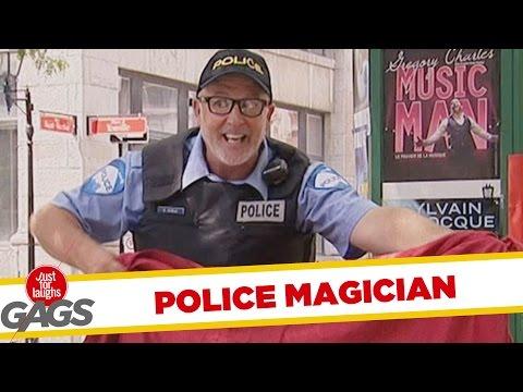 Magician Wannabe Cop Prank