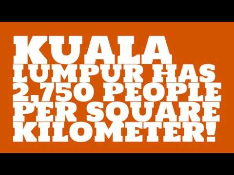 What is the land area of Kuala Lumpur?