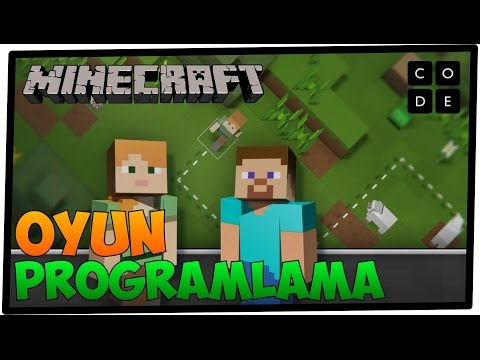 Code.org Türkçe: Minecraft Türkçe Oyun Programlama @codeorg | AtariKafa