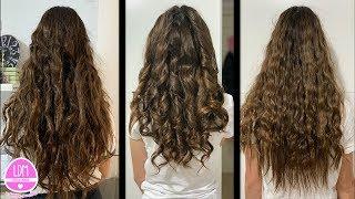 Ondas y Rizos con o sin calor TIPS para el pelo!! Waves and Curls with or without Heat