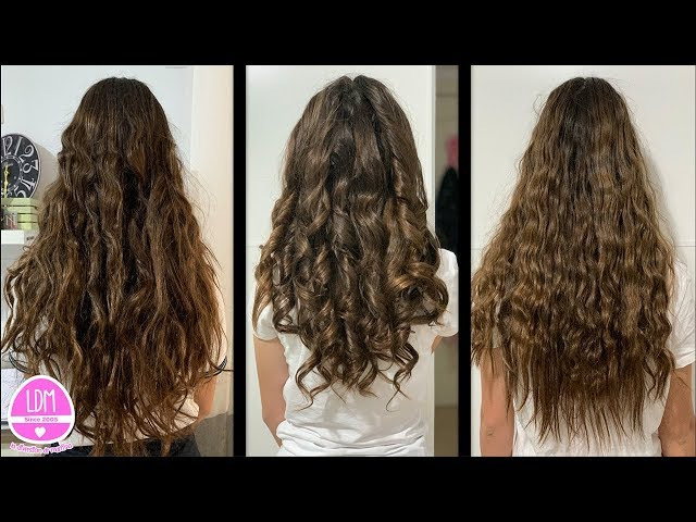 Ondas y Rizos con o sin calor TIPS para el pelo!! Waves and Curls with or without Heat