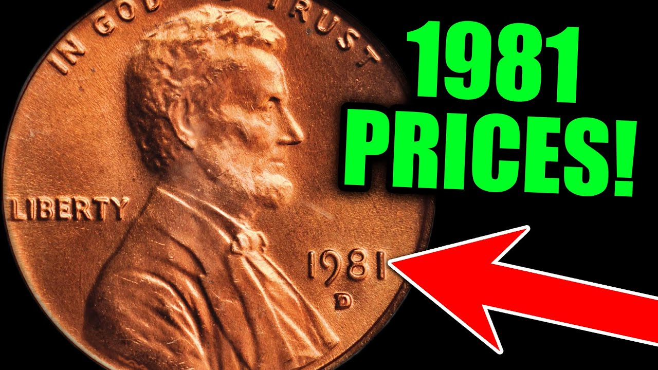 These MISTAKES on 1981 PENNIES make them VALUABLE COINS!!