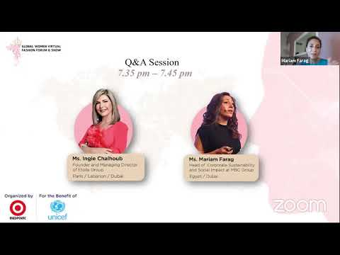 Global Women Virtual Forum (Day 5) For the Benefit of UNICEF
