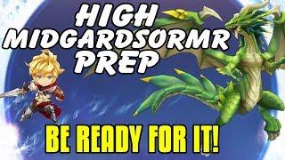 High Midgardsormr Raid Prep! Make Sure You're Ready Before You Enter!