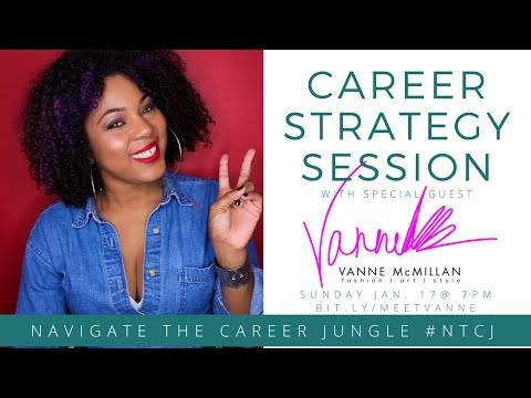 Career Strategy Session with Vanne McMillian