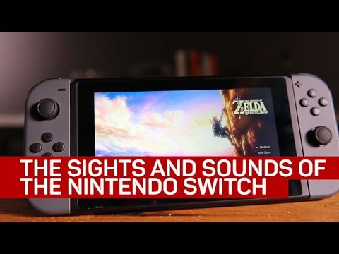 The satisfying sounds of the Nintendo Switch