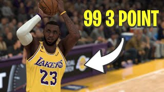 What If LeBron James Could Shoot Like Stephen Curry? | NBA 2K21