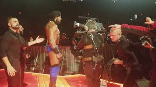 Jinder Mahal Entrance at WWE SMACKDOWN 12/26/2017
