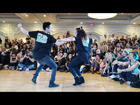 TAP 2019 Strictly Dj Battle 1er Round Tze Yi And Alyssa
