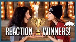 VIDEO REACTION WINNERS - THE UMBRELLA ACADEMY PARODY!