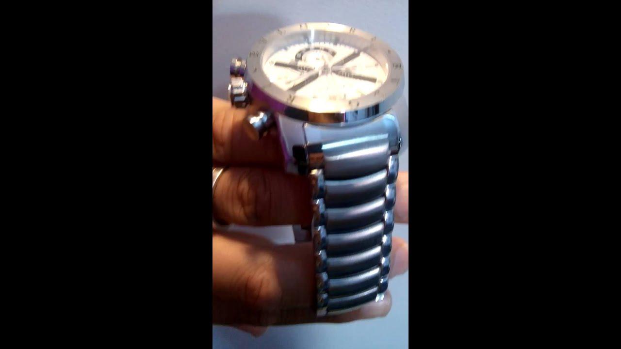 2f8d390354a Relógio Bulgari Iron Man Prata - YouTube