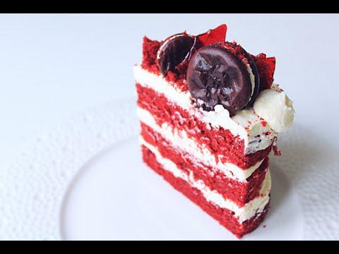 Торт Красный Бархат /  Red Velvet Cake