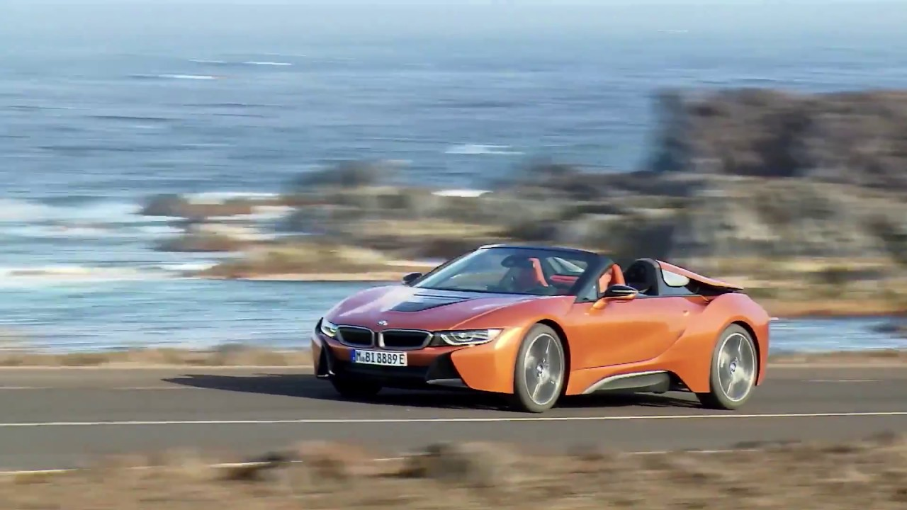 The New Bmw I8 Roadster Driving Video Youtube