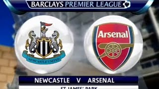 HIGHLIGHT: NEWCASTLE VS ARSENAL  [WEEK 4 2015-016]