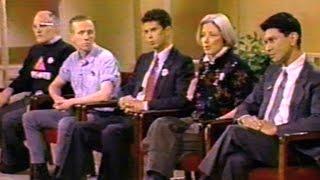 1990 Talk Show W/ ACT UP: Larry Kramer, Mark Harrington, Peter Staley, Ann Northrop, Robert Garcia