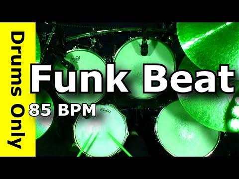 Backing Track - Funk Drum Beat 85 BPM - JimDooley