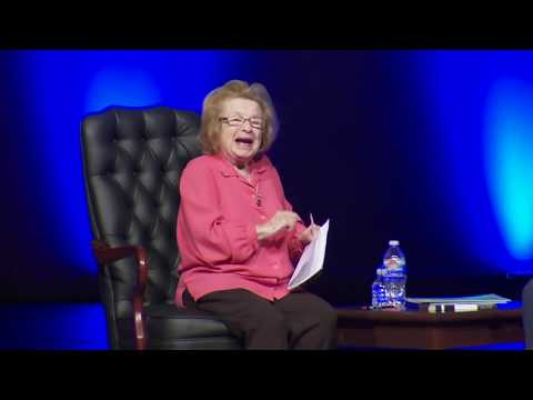 Dr. Ruth Westheimer talks being an orphan of the holocaust, a sniper and single mother